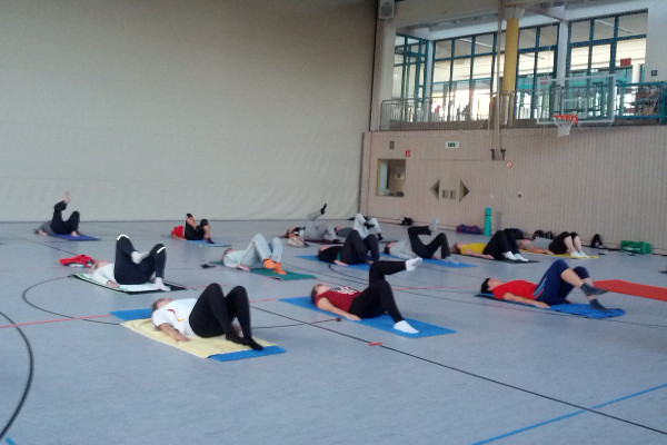 pilates in sommerpause
